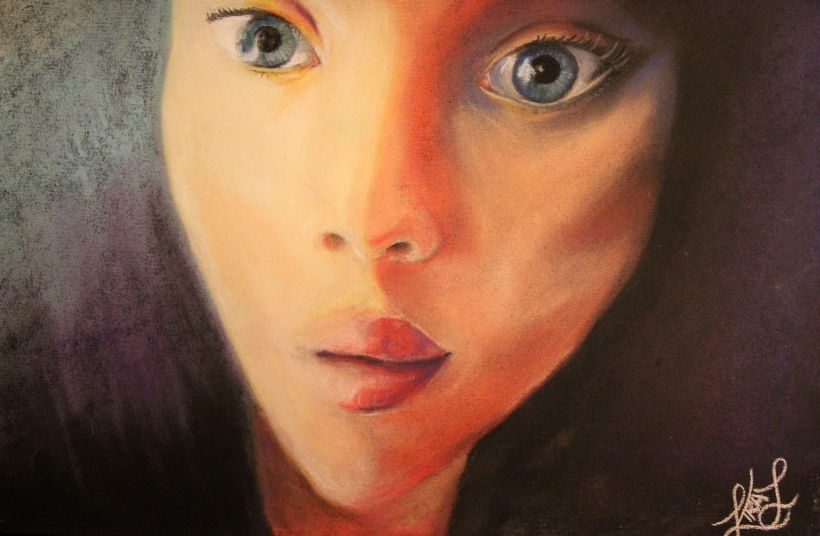 Self Portrait in Pastel